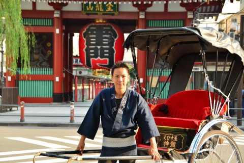 Tokyo: Asakusa Sightseeing Tour by Rickshaw