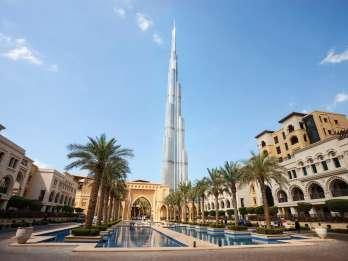 Modernes Dubai: Tagestour mit Burj Khalifa & Dubai Aquarium