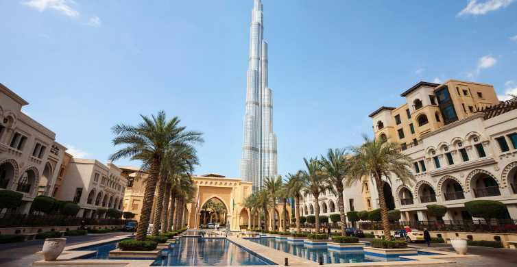Modern Dubai Full-Day Tour with Burj Khalifa