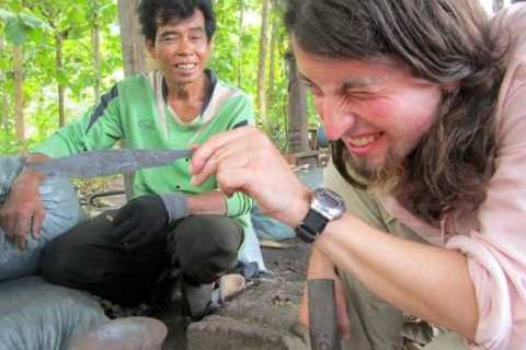 Luang Prabang: Knife Making with a Master Blacksmith