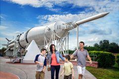 Excursão ao Centro Espacial Kennedy c/Transporte de Orlando