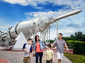 Ab Orlando: Tagestour zum Kennedy Space Center mit Transfers