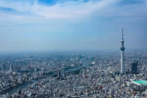 Tokyo Sky Cruising: 10-Minute Helicopter Tour