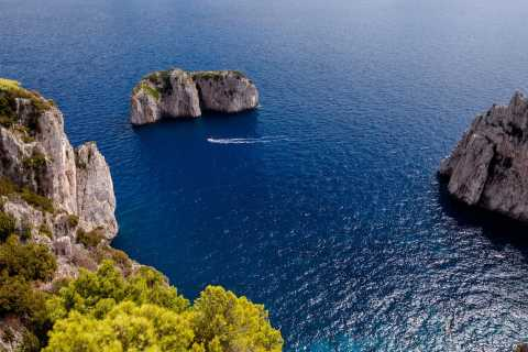 From Sorrento to Capri and Positano: Private Boat Tour