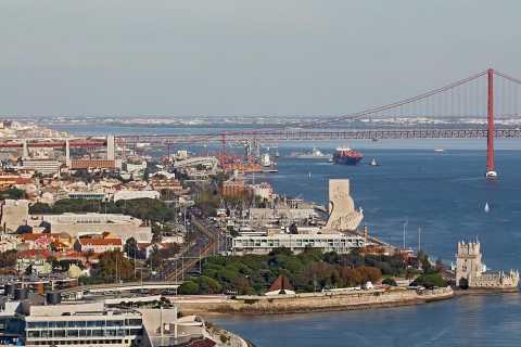 Helicopter Flight over Historic Lisbon