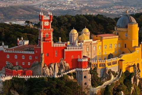 From Lisbon: Sintra Helicopter Tour
