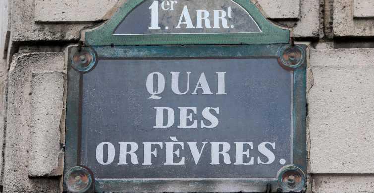 Paris: Historisk brott Walking Tour på franska