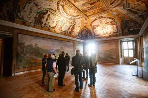 Rome: Hadrian's Villa and Villa d'Este Half-Day Tour