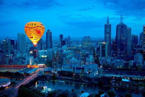 Melbourne: 1-Hour Hot Air Balloon Flight at Sunrise