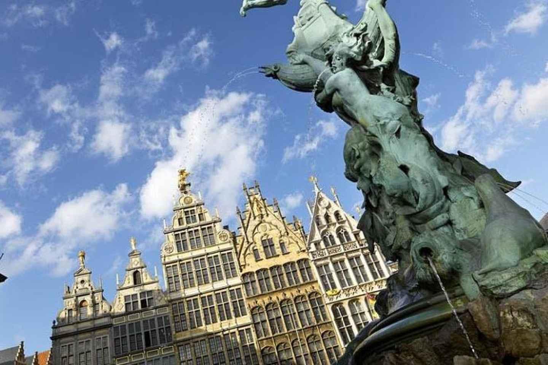 Von Brüssel: Geführte Busfahrt nach Antwerpen und Mechelen