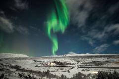 Islândia: Aurora Boreal de Ônibus a partir de Reykjavik