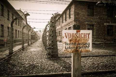 From Lodz: Auschwitz-Birkenau Small-Group Tour with Lunch