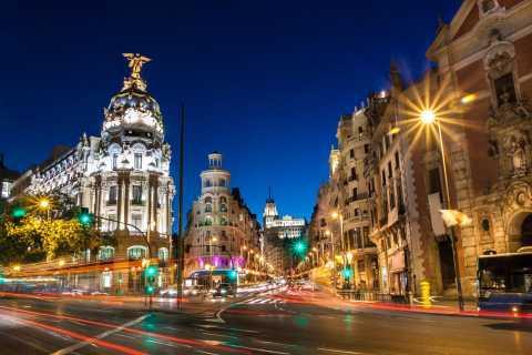 Madrid: tour serale a piedi con show di flamenco