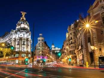 Madrid bei Nacht: Rundgang & optionale Flamenco-Show