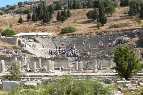 From Kusadasi: Half-Day Ephesus & Terraced Houses Tour