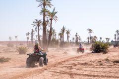 Passeio de Quadriciclo no Deserto ao Redor de Marrakech