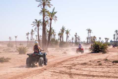 Half-Day Quad Biking in Marrakech's Surrounding Desert