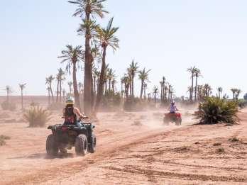 Halbtagstour: Quadfahren in der Wüste vor Marrakesch