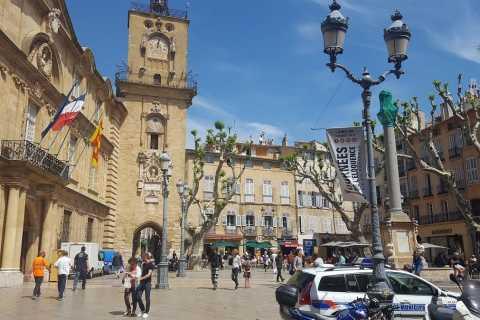 Da Marsiglia: mezza giornata Aix en Provence Tour