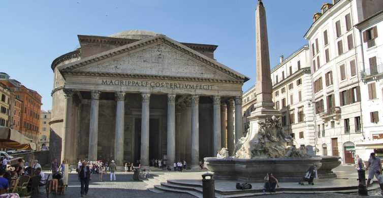 Rome Squares and Fountains: 3-Hour Walking Tour