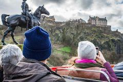 Edimburgo: Passe para 3 Circuitos do Ônibus Hop-On Hop-Off