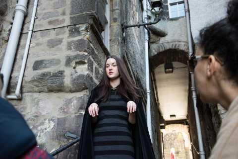 Edinburgh: Underground Vaults Evening Ghost Tour with Whisky