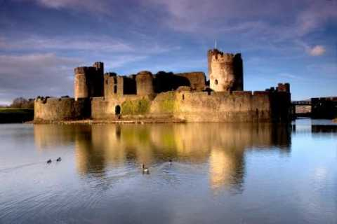 Cardiff and Caerphilly Castle Day Trip from London