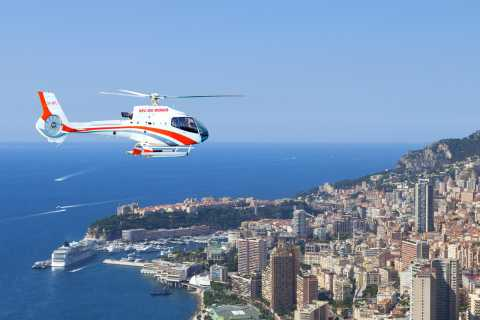 Monaco: Helicopter Sightseeing Flight