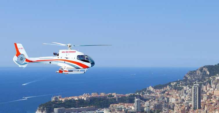 Monaco: Sightseeing-Hubschrauberrundflug