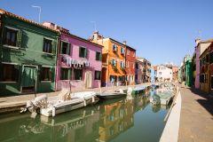 Passeio de Barco: Ilhas de Murano, Burano e Torcello