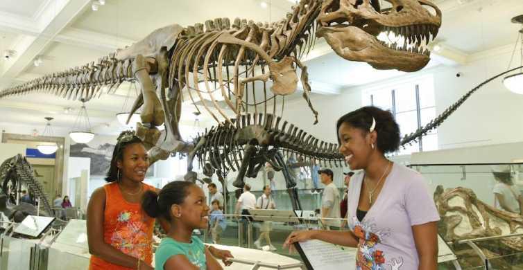 Ingresso para o Museu Americano de História Natural