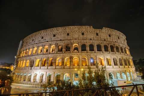 Rom: Panorama-Tour bei Nacht mit optionalem Dinner