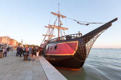 Veneza: Cruzeiro pela Lagoa e Jantar no Galleon