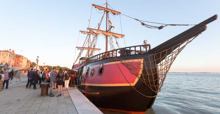 Venice: Venetian Lagoon Tour and Galleon Dinner