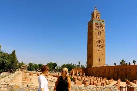 From Casablanca: Private Day Tour to Marrakech