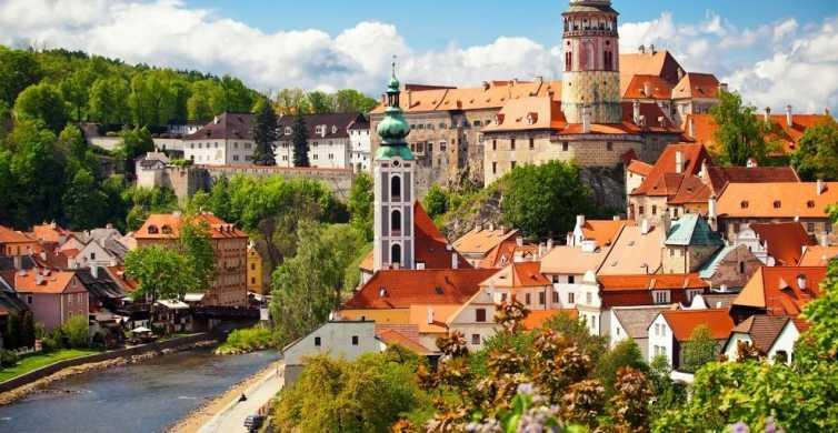 Da Praga: tour di 1 giorno a Český Krumlov con pranzo