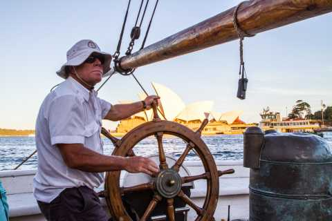 Sydney: Tall Ship Harbor Twilight Dinner Cruise