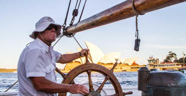 Sydney: Tall Ship Harbor Twilight Dinner Cruise