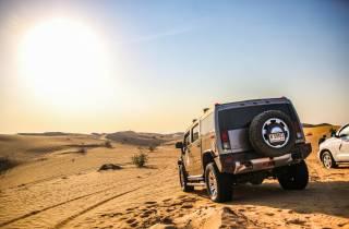 Ab Dubai: Wüstensafari, BBQ, Quad Biking, Shisha & Getränke