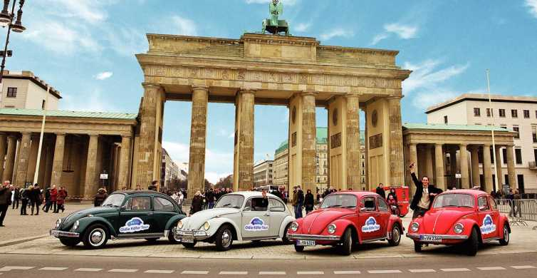 Berlin: 4-Hour Discovery Tour in VW Beetle