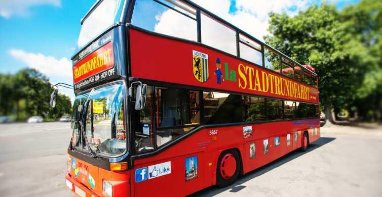 Hop-On, Hop-Off Bus Tour through Leipzig with Walking Tour