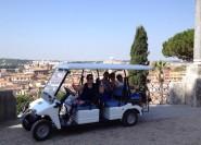 Rom: Hin- und Rücktransfer mit Golf Cart Tour
