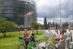 Tour guiado de bicicleta pelo centro da cidade de Estrasburgo