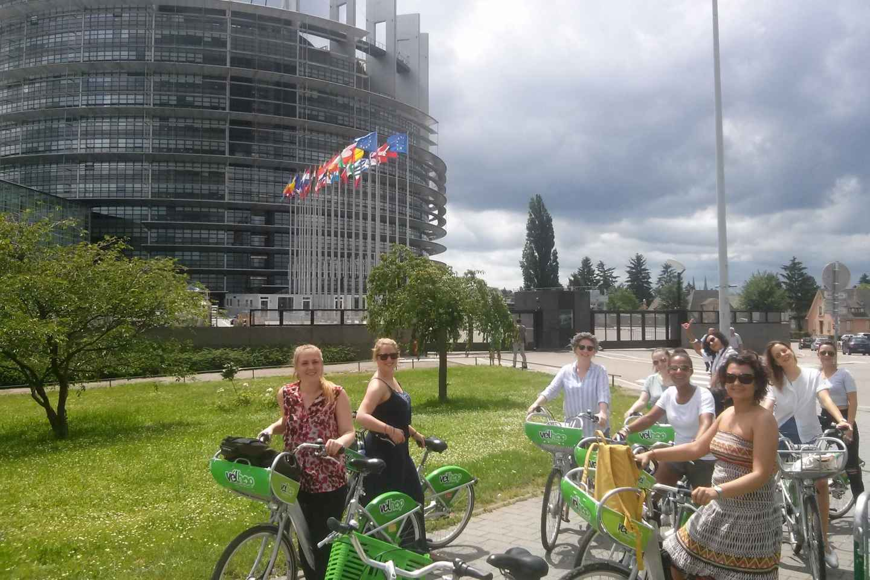 Straßburg: Rad-Führung durchs Stadtzentrum mit Einheimischen
