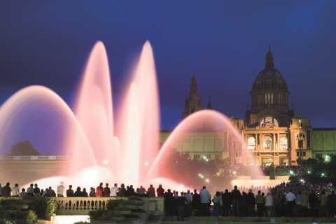 Barcelona: tour nocturno de la Fuente Mágica de Montjuïc