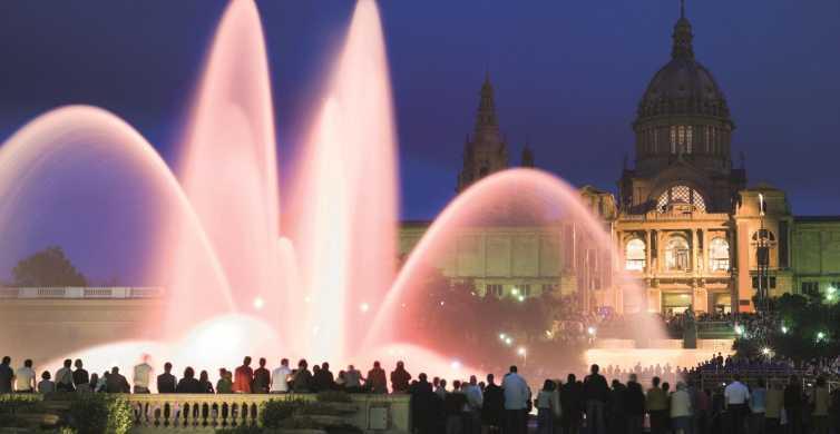 Barcelona: Montjuic Magic Fountain Night Tour