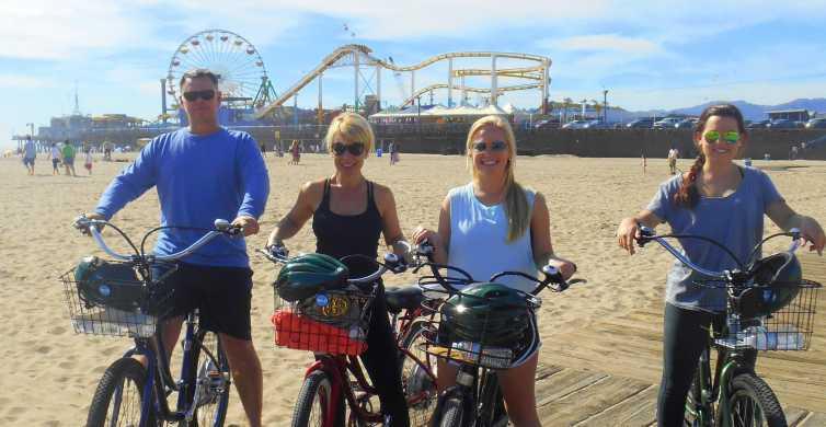 Santa Monica und Venice: 3-stündige Tour mit dem E-Bike