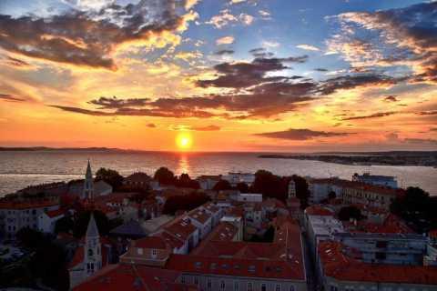 2 uur durende zonsondergangwandeling door Zadar