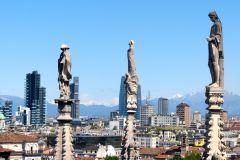 Milão: Excursão Sem Fila Duomo e Terraço