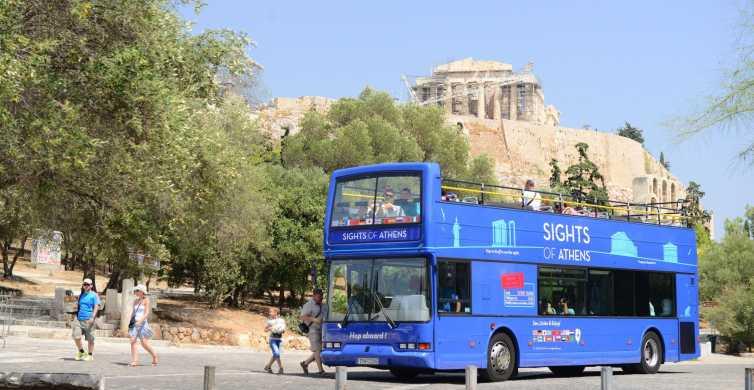 Athen, Piräus und Küste: Blauer Bus Hop-On/Hop-Off-Tour